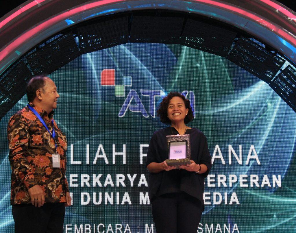 Kuliah Perdana ATVI 2017 bersama Mira Lesmana 2