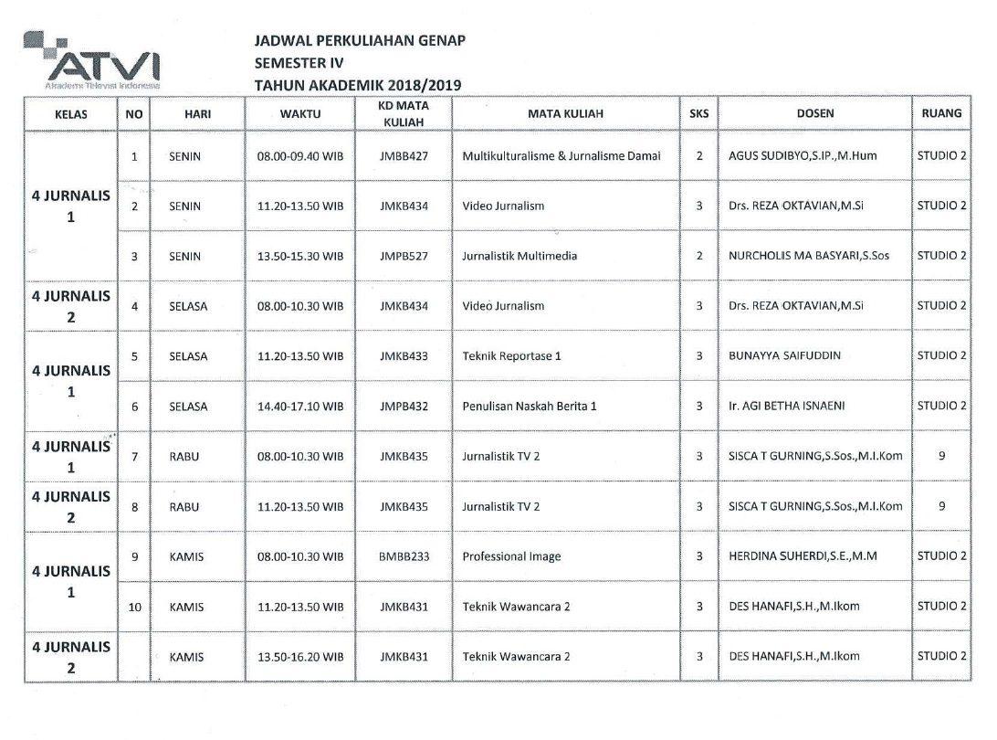 JADWAL-JURNALIS-SMTR-IV-Genap-2018-2019 rev1