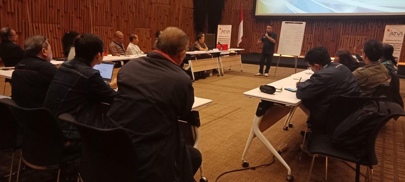 Workshop ATVI 2019 Mempersiapkan Kurikulum untuk Menyongsong Era Industri 4.0 1